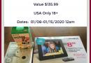 Aluratek Digital 8″ Photo Frame & A FUJiFilm Instax Mini 9 Camera and Instax Mini Film #Giveaway