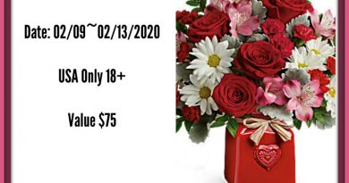 Valentine's Day Teleflora Bouquet   #$75Giveaway #LoveOutLoud