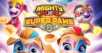 Avaliable on DVD March 3,2020 PAW PATROL: Mighty Pups Super Paws