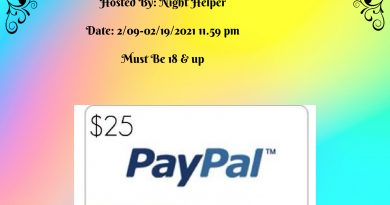 Win $25 Paypal Cash