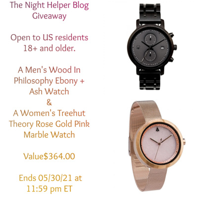 Night Helper Blog Watch Giveaway, Not One But Two…. Ends 5/31 12AM Value$364.00